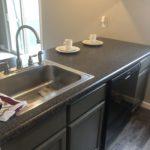 Kitchen Sink and Island
